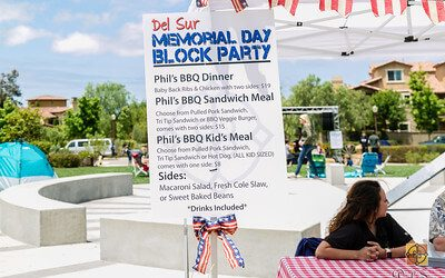 Del Sur Memorial Day Block Party 2017