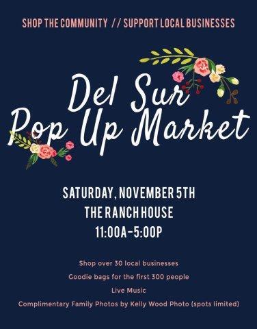Del Sur Pop Up Market